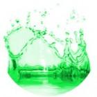 Žalios spalvos dažai 10ml