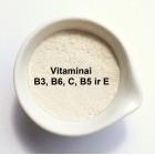 Multivitaminų kompeksas 5g (Vitaminai B6, B3, E, B5, C)