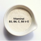Multivitaminų kompeksas 5g (anti age kosmetikos aktyvas, tinka visiems odods tipams)