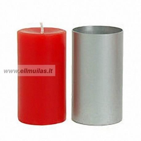 Forma pastatomai žvakei (ilgis 100mm, diametras 62 mm)