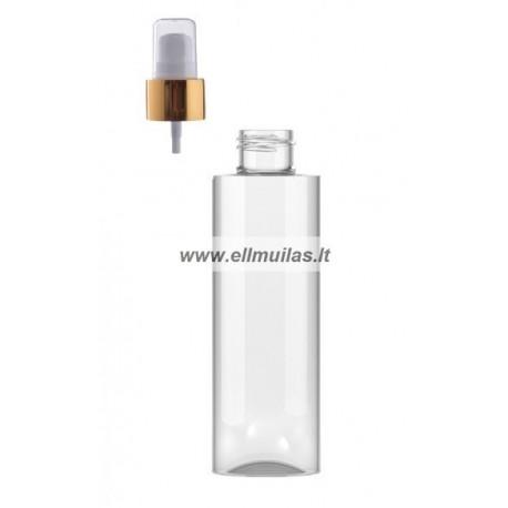 250 ml plastiko buteliukas su pompa losjonui (24mm)