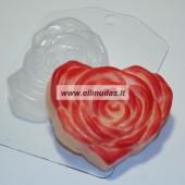 Muilo forma ''Širdelė rožė''