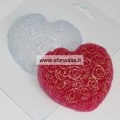 Muilo forma ''Širdelė iš rožių''
