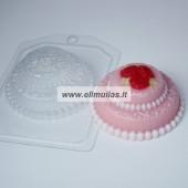 Muilo forma ''Mini torčiukas su rožėmis''