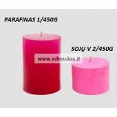 2/10/20 vnt. ''Fuchia'' žvakių dažų traškutis