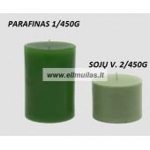 ''Green'' žvakių dažų traškutis