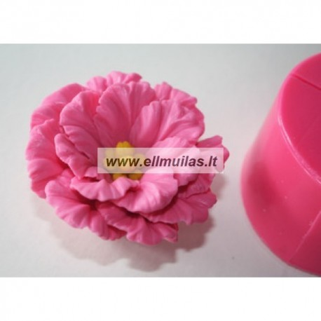 Silikoninė muilo forma - Gėlė 9