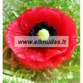 Silikoninė muilo forma - Gėlė 15