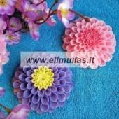 Silikoninė muilo forma - Gėlė 16
