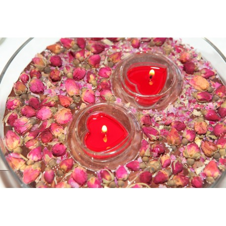 Plaukiojanti žvakidė arbatinėms žvakelėms