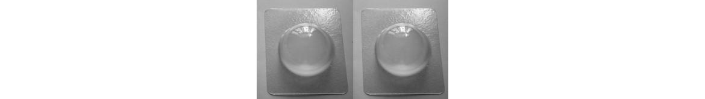 Vonios burbulų formos