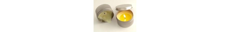 Receptas masažinė žvakė 'Vanilė'