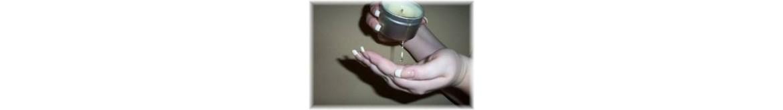 Receptas masažinė žvakė 'Šokoladas'