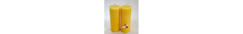 Bičių vaško žvakių dagčiai