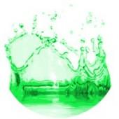 Žalios spalvos dažai