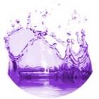 Violetinės spalvos dažai 10ml