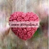 Silikoninė muilo forma ''Rožių sodas''