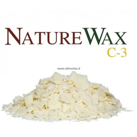 Sojų vaškas (induose) Nature wac C-3 - 22.68kg