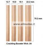 Medinis dagtis su laikikliu Booster wick 0.4 12,7x76.2mm