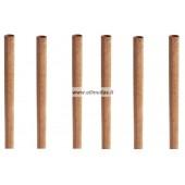 Medinis dagtis su laikikliu Tube Wick .01 6.4x127 mm