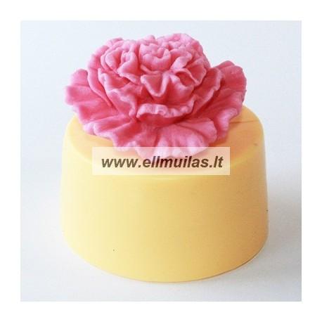 Silikoninė muilo forma - Gėlė 19