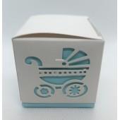 Dėžė žydros spalvos 60x60x60