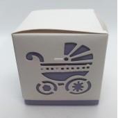 Dėžė violetinės spalvos 60x60x60