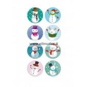 Kalėdiniai lipdukai Nr.3