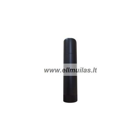 Lūpų balzamo tūbelė 15ml juoda