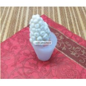 Silikoninė muilo/žvakių forma - Gėlė Nr.43