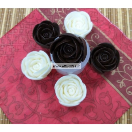 Silikoninė muilo/žvakių forma - Gėlė Nr.48