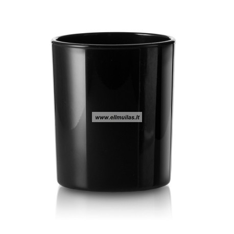 Juodas blizgus indas 205ml žvakių gamybai