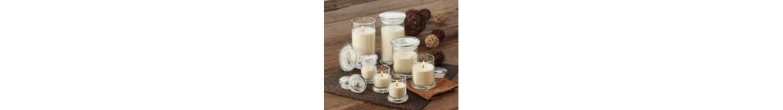 Vaškas žvakėms induose